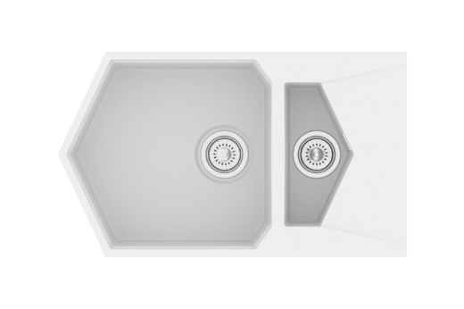 """Кварцевая мойка для кухни <span style=""""color:#d91f43"""">Pond</span>"""