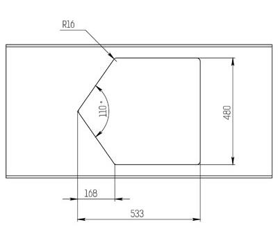 """Кварцевая мойка для кухни <span style=""""color:#d91f43"""">River</span>"""