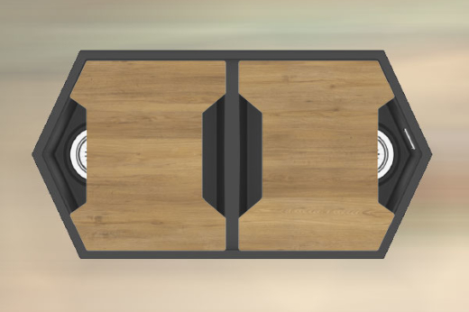 """Кварцевая мойка для кухни <span style=""""color:#d91f43"""">Gulf</span></br> с антибактериальной разделочной доской"""